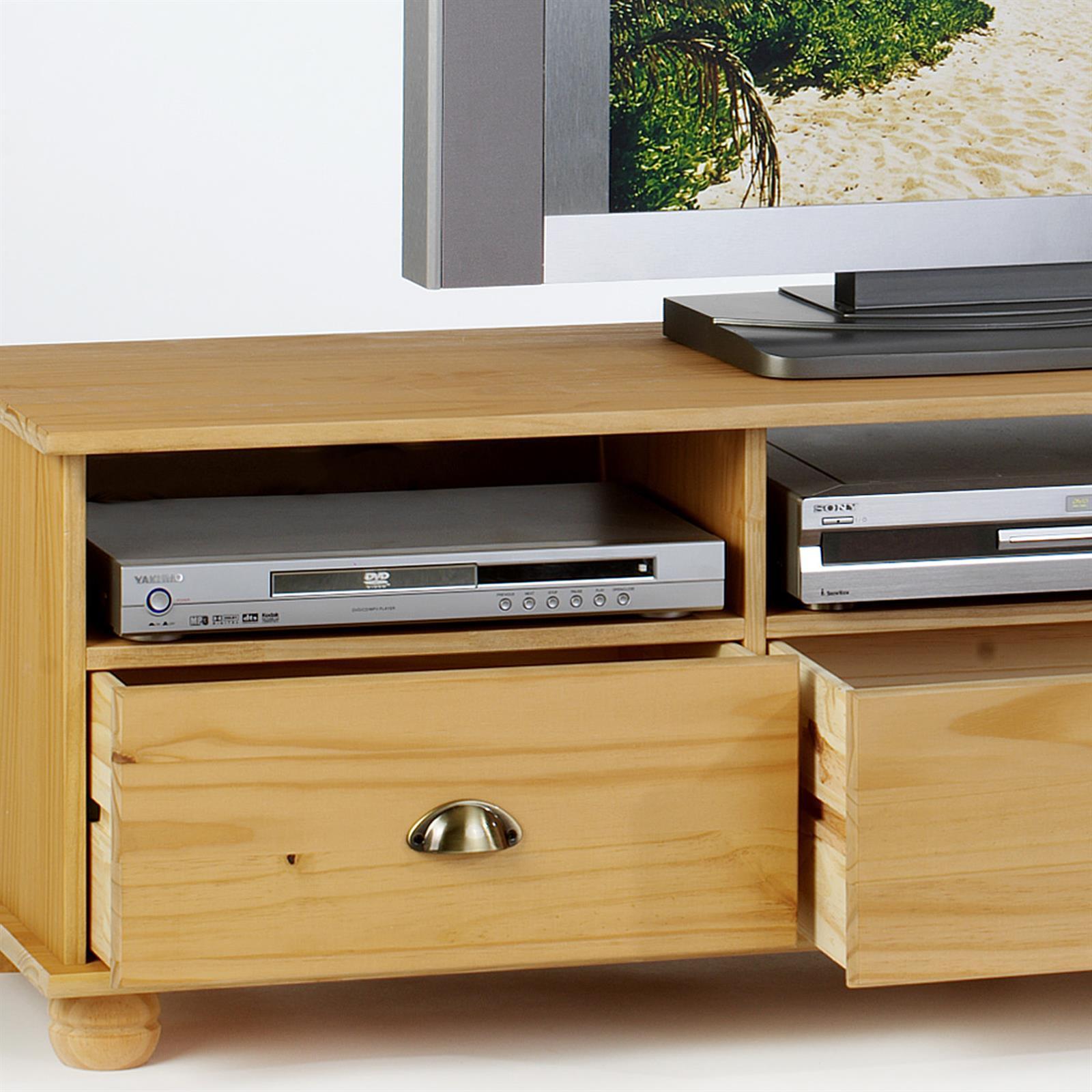 lowboard colmar kiefer massiv 151 cm breit mobilia24. Black Bedroom Furniture Sets. Home Design Ideas