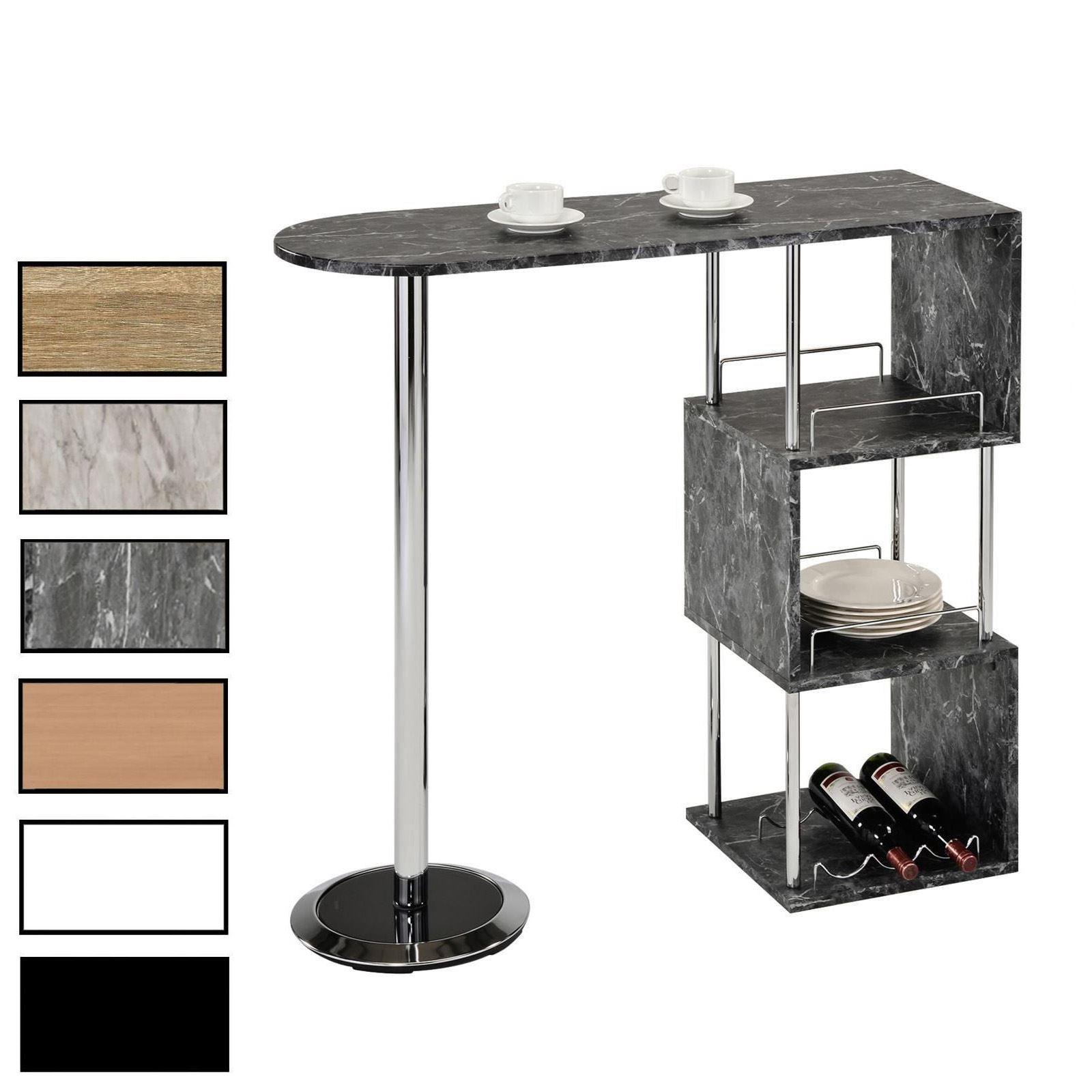 bartisch vigando in versch farben mobilia24. Black Bedroom Furniture Sets. Home Design Ideas