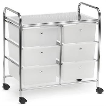 Rollcontainer GINA mit 3+3 Schubladen