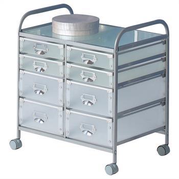 Rollcontainer ROLI mit 8 Schubladen