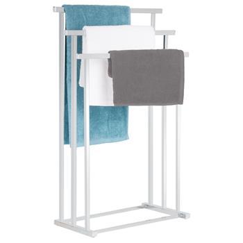 Porte-serviettes MATTIA, en métal chromé