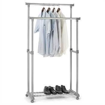 Garderobenwagen GROSSO, höhenverstellbar