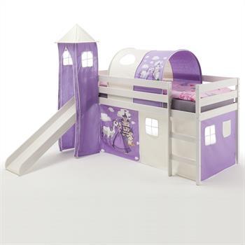 Spielbett BENNY Prinzessin, weiß lackiert