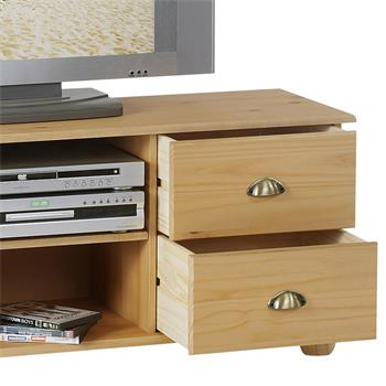 TV Möbel Lowboard COLMAR Kiefer massiv