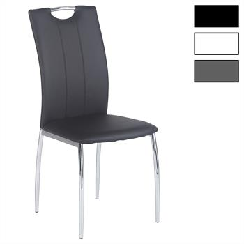Lot de 4 chaises APOLLO, en synthétique