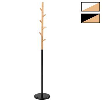 Porte-manteaux AVIGNON, en métal et bambou