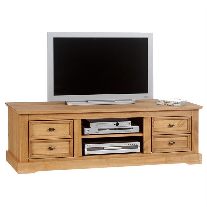 lowboard kent 4 2 kiefer massiv mobilia24. Black Bedroom Furniture Sets. Home Design Ideas