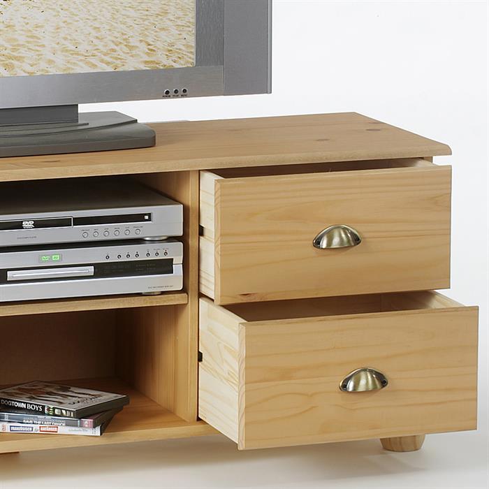 tv m bel lowboard colmar kiefer massiv mobilia24. Black Bedroom Furniture Sets. Home Design Ideas