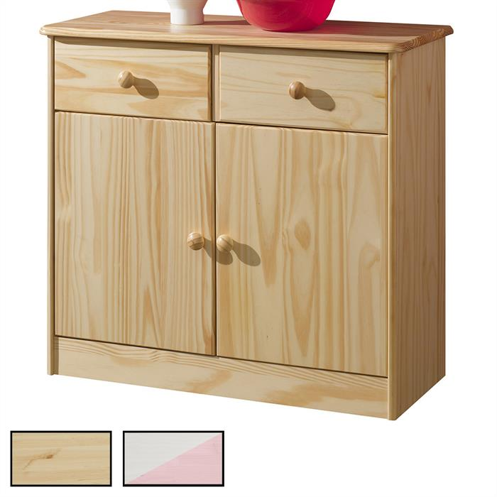 kommode rondo mit 2 t ren und 2 schubladen mobilia24. Black Bedroom Furniture Sets. Home Design Ideas