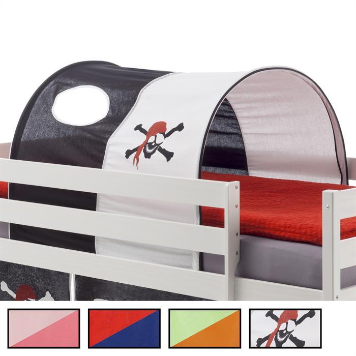 tunnel max f r spielbett hochbett in 4 farben mobilia24. Black Bedroom Furniture Sets. Home Design Ideas